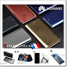 Huawei P8 lite 2017 Etui slim housse coque Miroir View Plated Mirror Case Cover