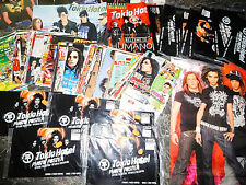 TOKIO HOTEL  1090 TEILE/PARTS  7,4 KILO CLIPPINGS+POSTER+MORE   0320