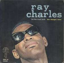 "Ray CHARLES Hit the road Jack + 3 French EP 45 7"" VEGA 90886"