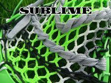Lacrosse Money Mesh Sublime black, silver, white, neon green show swag stand out