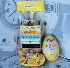 SWATCH  limited edition GZ128 1993 EGGSDREAM NUOVO con scatola e pasta all'uovo