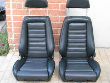 RECARO SEATS KIT E21 E10 320IS (2) UPHOLSTERY KIT BMW BEAUTIFUL NEW