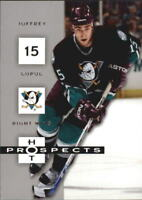 2005-06 Hot Prospects Hockey Cards 1-100 Pick From List