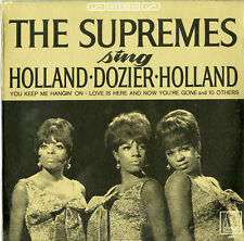 """""""THE SUPREMES"""" Sing Holland.Dozier.Holland / LP US (MOTOWN 650 Stereo) VG+ to+++"""