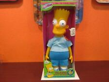 "1990 THE SIMPSONS TV CARTOON BART TALKING 17"" DOLL DANDEE MINT OLD STORE STOCK"