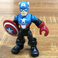 Playskool Heroes CAPTAIN AMERICA Bucky Hulk Marvel Super Hero action Figure toys