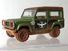 Matchbox Land Rover Ninety Green Muddy 1:62 Rare Variant Brown 1987 Diecast 90