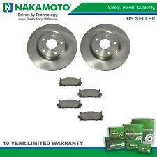 For 07-14 15 16 17 Toyota Camry Avalon Front Ceramic Brake Pad & Disc Rotor Kit