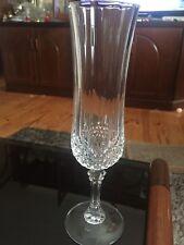 4 x Cristal d'Arques Paris Glasses USED