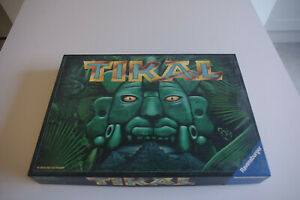 Vintage (2000) TIKAL Board Game Age 10 upwards 2-4 Players jungle game