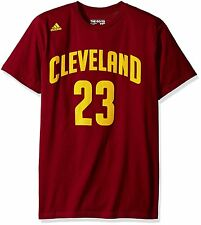 NBA Cleveland Cavaliers LeBron James #23 Name & Number T-Shirt, Large