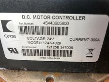 Curtis Sepex DC Motor Cobtroller 1243 4329