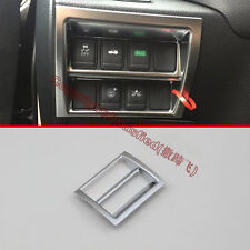 Pearl Chrome Head Light Switch Control Trim Cover For Nissan Altima 2016 2017