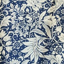 Strawberry Thief Style William Morris Print Cotton Fabric Curtains 3 Colours