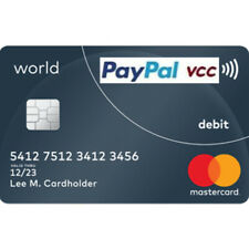 VCC Virtual Credit Card For PayPal Verification Works Worldwide FAST
