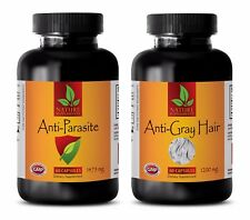 Candida herbal - ANTI PARASITE - GREY HAIR COMBO 2B - zinc extract