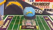 NFL Mad Lids Series 2 Los Angeles Chargers mini cap/display stand/sticker sheet
