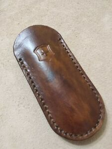 Leather case made for Victorinox pioneer 93mm knife 2-3 layers