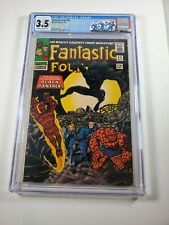 Fantastic Four #52 1966 CGC 3.5 1st Black Panther!!