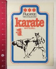 Aufkleber/Sticker: Rucanor Sporting Goods - Karate Matsuru (110316168)