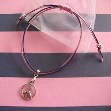 PEACE CND Friendship Bracelet,Jack knots Will make great festival bracelets