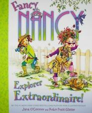 Fancy Nancy Explorer Extraordinaire! by Jane O'Connor (2009, Hardcover)