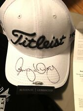Rory McIlroy Autographed White Footjoy Hat Upper Deck Authenticated COA