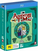ADVENTURE TIME Season 1-10 (Region Free) Blu-ray The Complete Series Collection