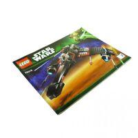 1 x Lego System Bauanleitung A4 Nr 2 für Set Star Wars  Yoda Chronicles Jek-14's