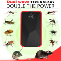 Ultrasonic Pest Repeller Plug In Electric Mosquito Rat Rodent Spider Control