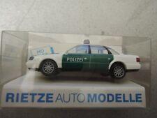 Rietze 50660 Audi A6 grün/weiß Polizei in OVP aus Polizei-Sammlung (*4)