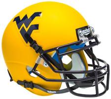 WEST VIRGINIA MOUNTAINEERS NCAA Schutt XP Authentic MINI Football Helmet