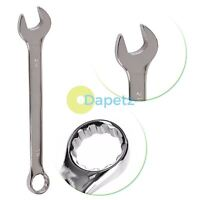 Premium Cr-V 6mm - 32mm Metric Combination Spanner Small/Large Wrench Quality