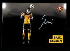 Paul Seguin Autogrammkarte Dynamo Dresden 2017-18 Original Signiert+A 176225