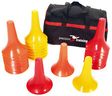 Precision Training Soccer Hockey Football Training Marker Cone Drill Set