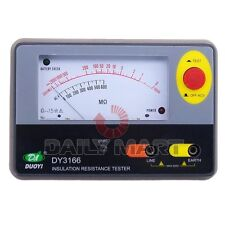 New DY3166 1000V Analogue Insulation Resistance Tester Resistor Resistance Meter