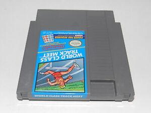 World Class Track Meet Nintendo NES Video Game Cart