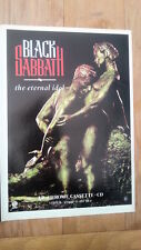 BLACK SABBATH Eternal Idol 1987 UK magazine ADVERT/Poster/clipping 11x8 inches