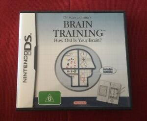 Dr Kawashima's Brain Training - Nintendo DS - How Old Is Your Brain