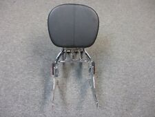 Harley Davidson Genuine Sissy Bar with Air Foil Luggage Rack and Back Rest