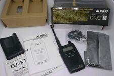 Alinco DJ X7 ultraflacher Breitbandempfänger Funkscanner / Scanner - w. FM Bug !