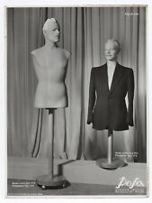 PHOTO MANNEQUIN HOMME NOVITA Surréalisme Surréaliste 1950 Buste Étrange Rosa