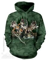 """Find 12 Wolves"" The Mountain Hoodie - S through 3X"