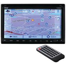 """7"""" 2-DIN Bluetooth Motorized Car In Dash GPS DVD CD MP3 Receiver AM/FM Radio"""