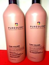 Pureology Pure Volume Liters Shampoo & Conditioner 33.8 JUST RELEASED
