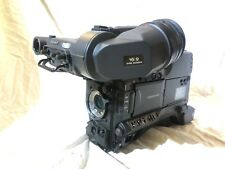 """Sony PDW-F350 XDCAM HD 1/2"""" + Viewfinder **VERY LOW HOURS** LASER 15 (BODY ONLY)"""