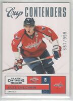 2011-12 Panini Contenders #148 Alex Ovechkin 667/999 Cup Contenders CC Flat S/H