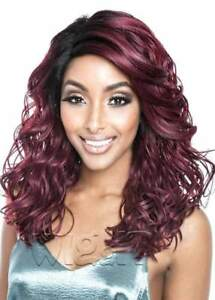 MELROSE | BSG207 | HUMAN HAIR BLEND LONG CURLY LACE FRONT WIG | MANE CONCEPT