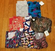 LuLaRoe Women's Clothing Lot of 8 Pcs ALL EUC/NWT Shirts Dresses XS/S/M/L/3X
