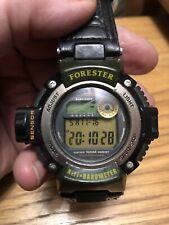 Casio Forester Watch (2147). Vintage Casio With Altimeter.